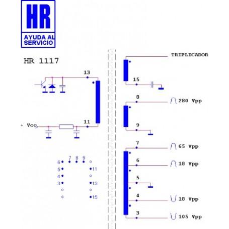 HR1120 TRASFORMATORE EAT