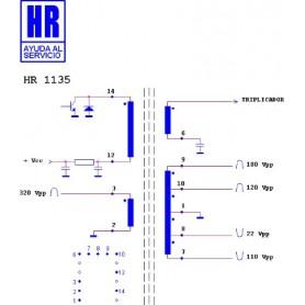 HR1135 TRASFORMATORE EAT