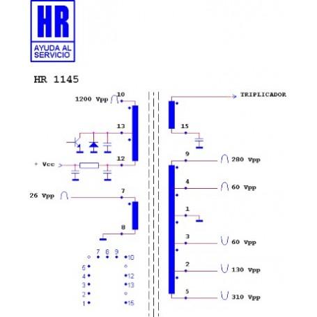 HR1145 TRASFORMATORE EAT