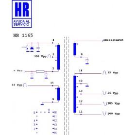 HR1165 TRASFORMATORE EAT