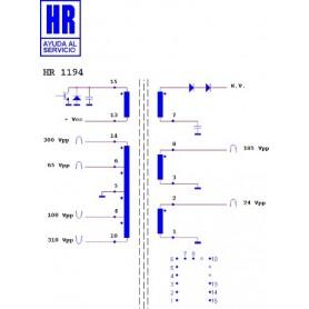 HR1194 TRASFORMATORE EAT