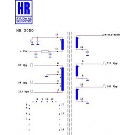 HR2080-00 TRASFORMATORE EAT