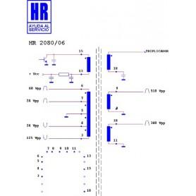 HR2080-06 TRASFORMATORE EAT