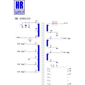 HR2080-10 TRASFORMATORE EAT