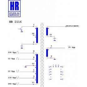 HR2116 TRASFORMATORE EAT