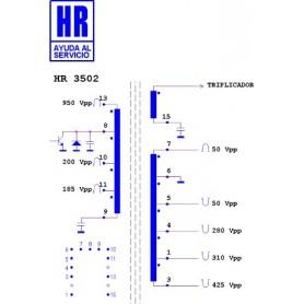 HR3502 TRASFORMATORE EAT
