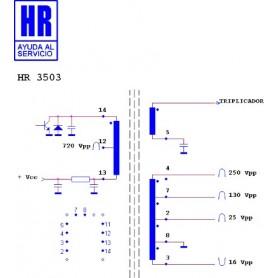 HR3503 TRASFORMATORE EAT