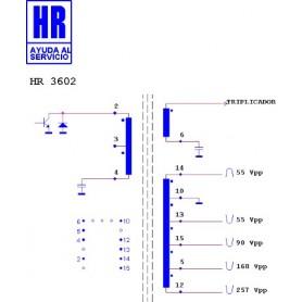 HR3602 TRASFORMATORE EAT