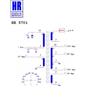 HR5701 TRASFORMATORE EAT
