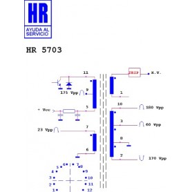 HR5703 TRASFORMATORE EAT