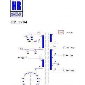 HR5704 TRASFORMATORE EAT