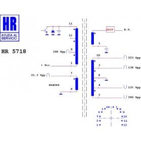 HR5718 TRASFORMATORE EAT