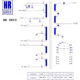 HR5803 TRASFORMATORE EAT