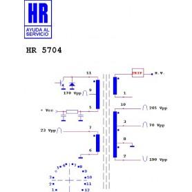 HR5804 TRASFORMATORE EAT