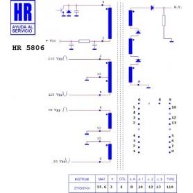 HR5806 TRASFORMATORE EAT