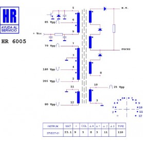 HR6005 TRASFORMATORE EAT