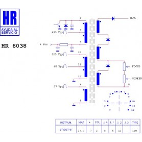 HR6038 TRASFORMATORE EAT