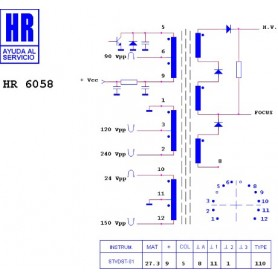 HR6058 TRASFORMATORE EAT