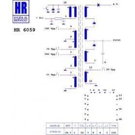 HR6059 TRASFORMATORE EAT