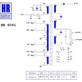 HR6061 TRASFORMATORE EAT