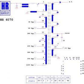 HR6070 TRASFORMATORE EAT