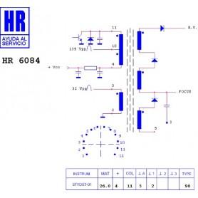 HR6084 TRASFORMATORE EAT
