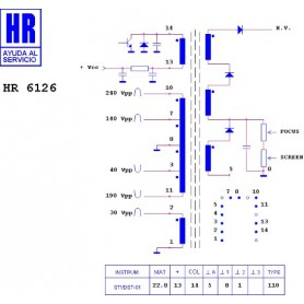 HR7508 TRASFORMATORE EAT