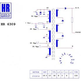 HR6309 TRASFORMATORE EAT