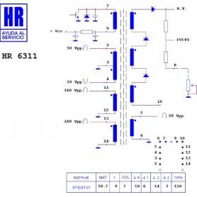 HR6311 TRASFORMATORE EAT