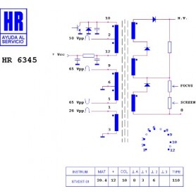 HR6345 TRASFORMATORE EAT