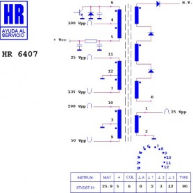 HR6407 TRASFORMATORE EAT