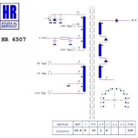 HR6507 TRASFORMATORE EAT
