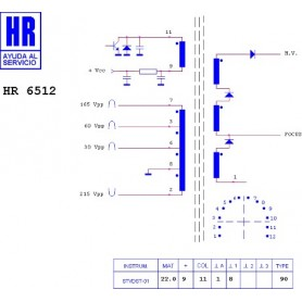 HR9316 TRASFORMATORE SWITCH