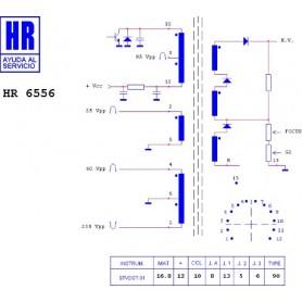 HR9343 TRASFORMATORE SWITCH