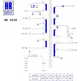 HR9344 TRASFORMATORE SWITCH