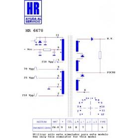 HR9347 TRASFORMATORE SWITCH