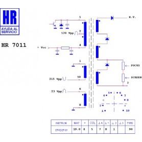 HR9355 TRASFORMATORE SWITCH