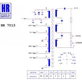 HR7013 TRASFORMATORE EAT