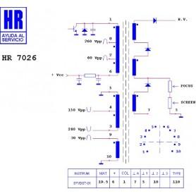 HR7026 TRASFORMATORE EAT