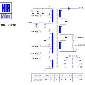 HR7030 TRASFORMATORE EAT