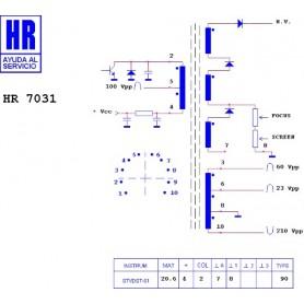 HR9611 TRASFORMATORE SWITCH