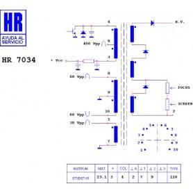 HR9612 TRASFORMATORE SWITCH
