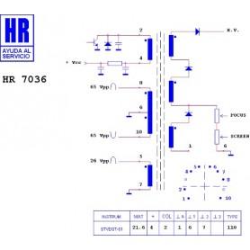 HR9613 TRASFORMATORE SWITCH