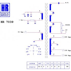 HR9616 TRASFORMATORE SWITCH
