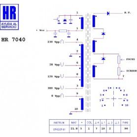 HR9621 TRASFORMATORE SWITCH