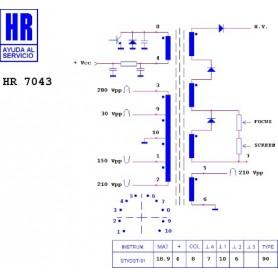 HR9625 TRASFORMATORE SWITCH