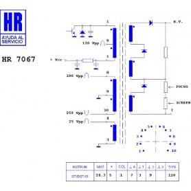 HR7067 TRASFORMATORE EAT