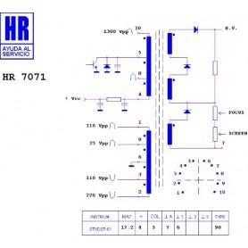 HR9666 TRASFORMATORE SWITCH