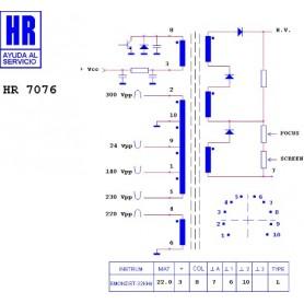 HR9673 TRASFORMATORE SWITCH