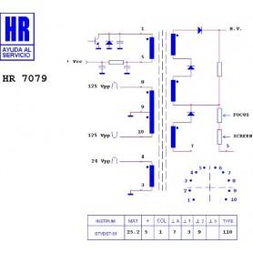 HR9675 TRASFORMATORE SWITCH